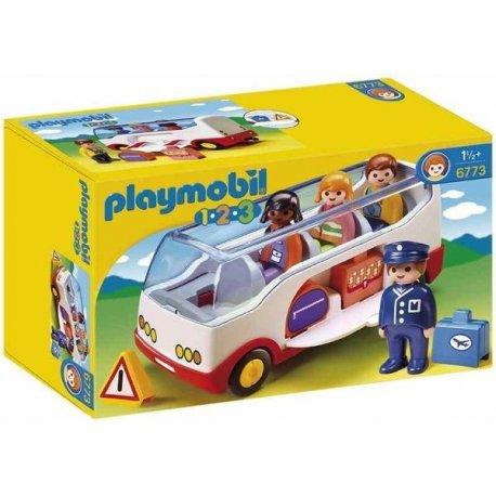Playmobil 1.2.3 Autobus Wycieczkowy