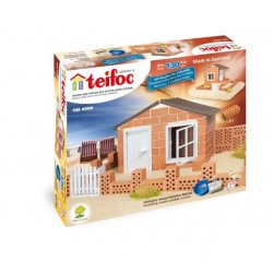 Budowle z cegiełek Teifoc - Domek Letni