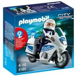 Playmobil 5185 - Motor Policyjny z Policjantem