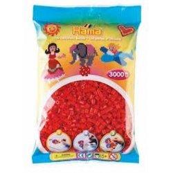 Hama Midi - koraliki czerwone