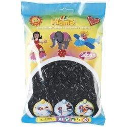 Hama 201-18 - Dodatkowe Czarne Koraliki Hama Midi
