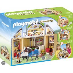 Playmobil 5418 - Game Box Stadnina Koni