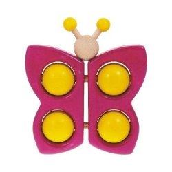 Bajo 12410 - motyl, zabawka dla niemowlaka