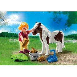 Playmobil 5291 - Zestaw Dziewczynka z Kucykiem