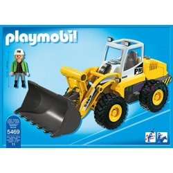 Playmobil 5469 - Spychacz Kołowy, Ładowarka