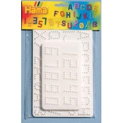 Hama 4455 - 2 duże podkładki - z literkami i cyferkami