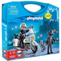 Playmobil 5891 - Zestaw Przenośna Skrzynka Policja