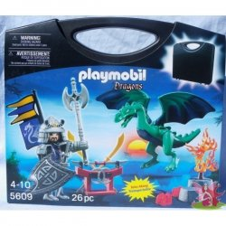 Playmobil 5609 - Zestaw Skrzynka Azjatyccy Wojownicy