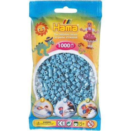 Hama 207-31 - Kolor TURKUSOWY - 1000 koralików