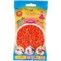 Hama 207-04 - Kolor POMARAŃCZOWY - 1000 koralików