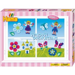 Hama 3140 - OKIENNE DEKORACJE - koraliki midi w pudełku