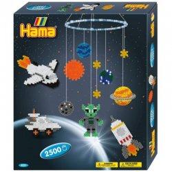 Hama 3231 - KOSMOS i PLANETY - koraliki midi w pudełku