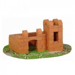 Teifoc 4000 - Mini Zamek z Cegiełek 2-Plany