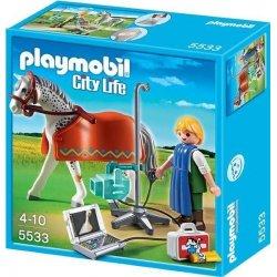 Playmobil 5533 - Weterynarz z rentgenem