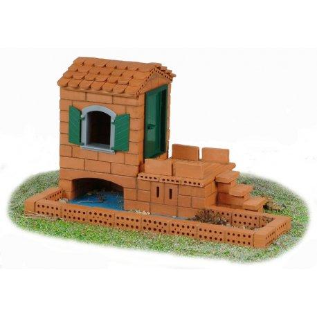 Domek na wodzie - Teifoc - Dwa plany - 250 el. - 4100
