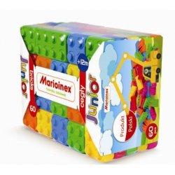 Klocki Cegły Junior 60 elementów - Marioinex