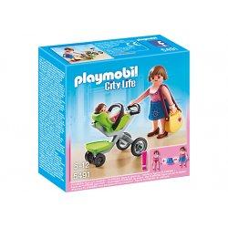 Playmobil 5491 - Figurki Mama z Wózkiem