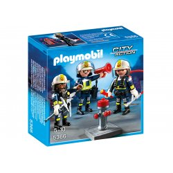 Playmobil 5366 - Grupa strażaków