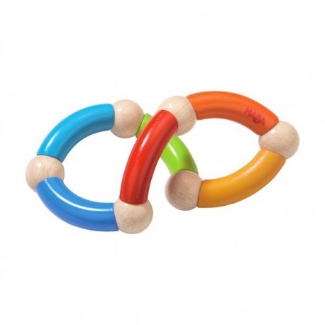 Haba 3868 - Gryzak wyginany wąż - Color Snake