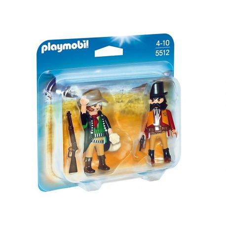 Playmobil 5512 - Duo pack Szeryf i bandyta