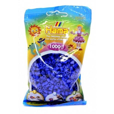 Hama 207-08 - koraliki ciemno niebieskie - 1000 szt