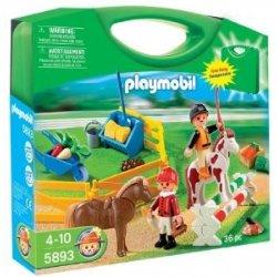 Playmobil 5893 - Zestaw Konie w Przenośnej Walizce