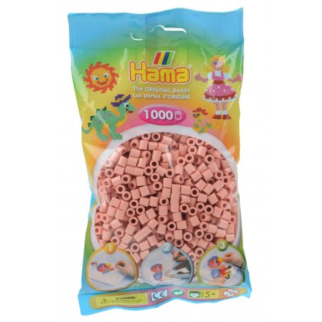 Hama 207-26 - Kolor Łososiowe - 1000 koralików