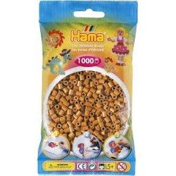 Hama 207-21 - koraliki jasny brąz - 1000 szt