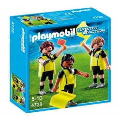 Playmobil 4728 - Sędzia z asystentami