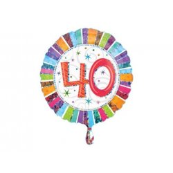 Balon foliowy na 40te urodziny