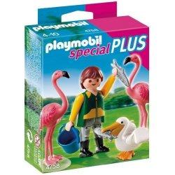 Playmobil 4758 Special Plus - Opiekun zwierząt z egzotycznymi ptakami