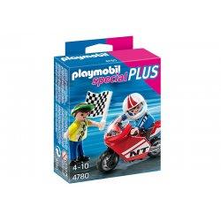 Playmobil 4780 - Chłopcy z Motorem Wyścigowym