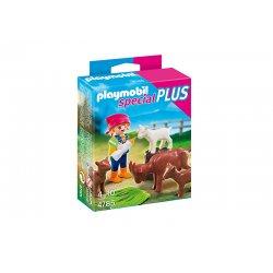 Playmobil 4785 - Figurka Dziewczynki z Kozami