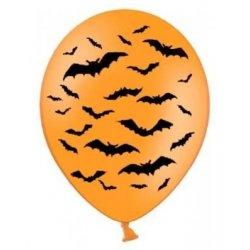 Balon Halloween - Nietoperze - balon lateksowy
