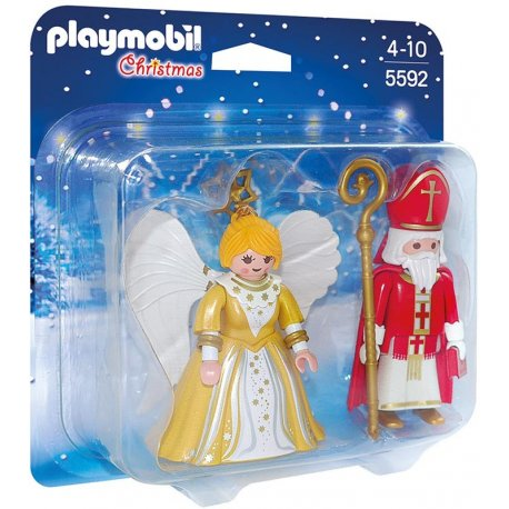 Playmobil 5592 - Mikołaj i anioł