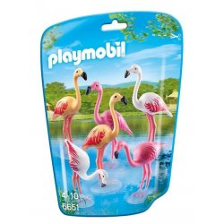 Playmobil 6651 - 6 Figurek Flamingów