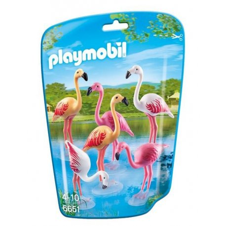 Playmobil 6651 - Figurki, Flamingi
