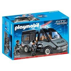 Playmobil 6043 - Okratowany Samochód Brygady Policyjnej 2 Figurki