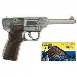 Policyjny Pistolet na Kapiszony Metalowy