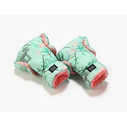 Mufka rękawice - Maggie Rose Mint, Coral