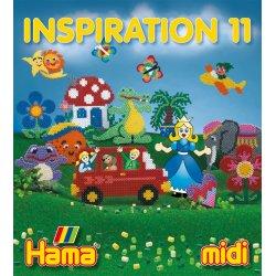 Hama midi - INSPIRACJE 11 - książeczka z pomysłami