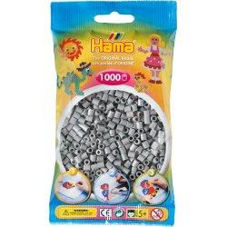 Hama 207-17 Popielate - 1000 Koralików Midi 5mm