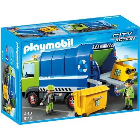 Playmobil 6110 - Nowa śmieciarka do recyklingu