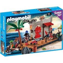 Playmobil 6146 - Twierdza Piratów 120el