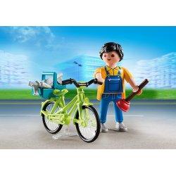 Playmobil 4791 - Rzemieślnik z Rowerem