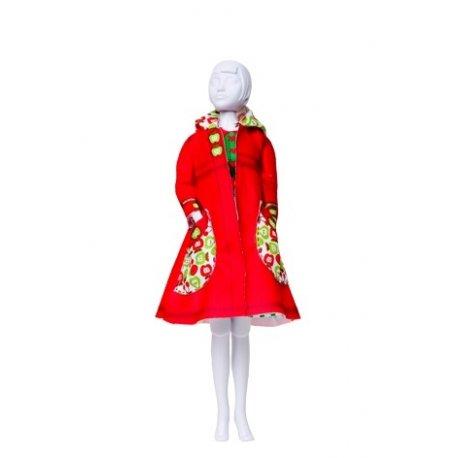Strój Dress your doll - Fanny Apples - płaszczyk