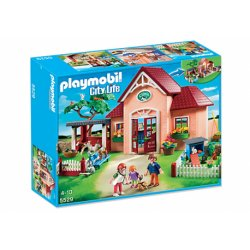 Playmobil 5529 - Lecznica dla zwierząt z wybiegami