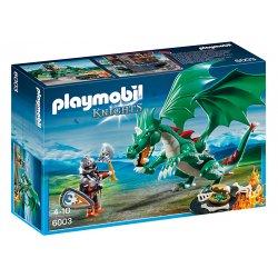 Playmobil 6003 - Smok Zamkowy z Wojownikiem