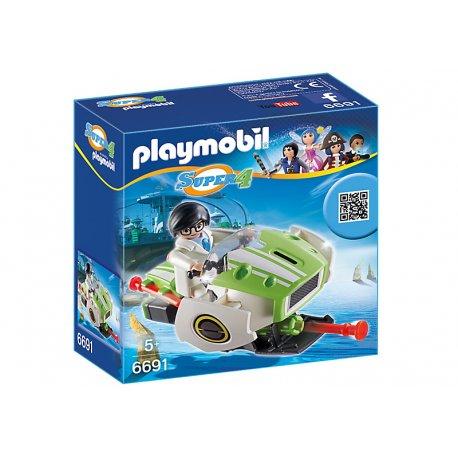 Playmobil 6691 - Skyjet z Super4