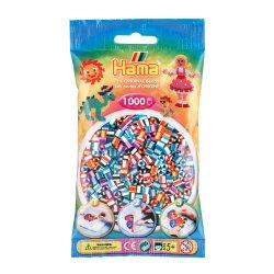 Hama 207-90 Dodatkowe koraliki midi - 1000 prążkowanych koralików